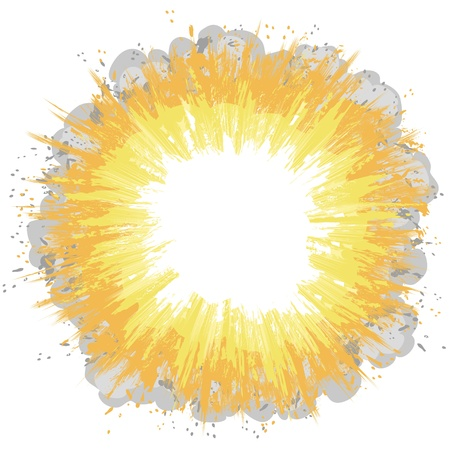 explosion Stock Vector - 12479848