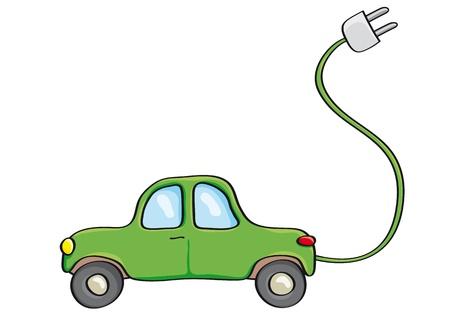 alternatively: Alternatively car Illustration