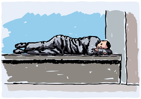 homeless person: Homeless
