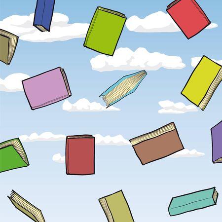 books Stock Vector - 13572013