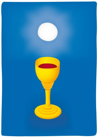 eucharist: Host and chalice