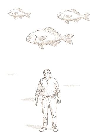 suspend: flying fish