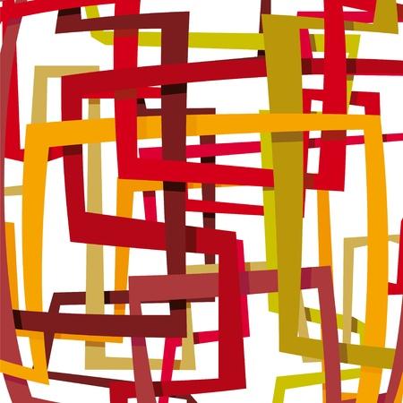 interweaving: abstract background Illustration