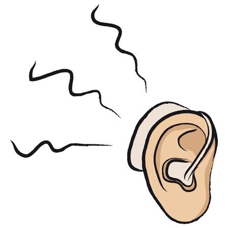 dull: aud�fono Vectores