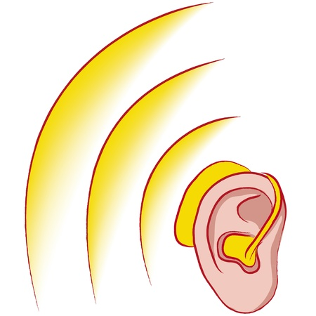 acustica: apparecchi acustici Vettoriali