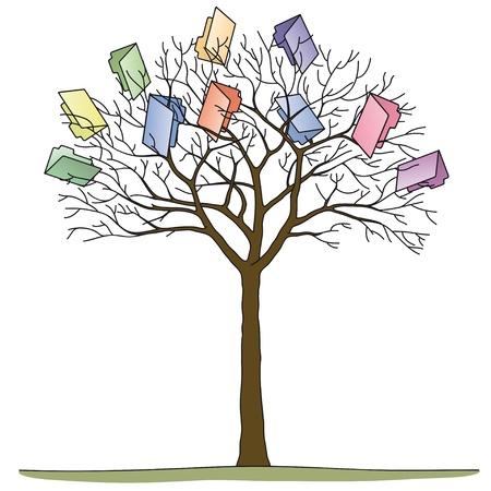jerarquia: árbol de carpetas