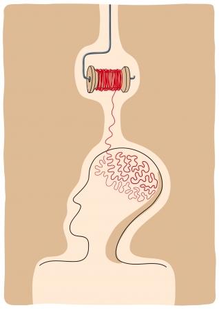 unfold: do the thinking Illustration
