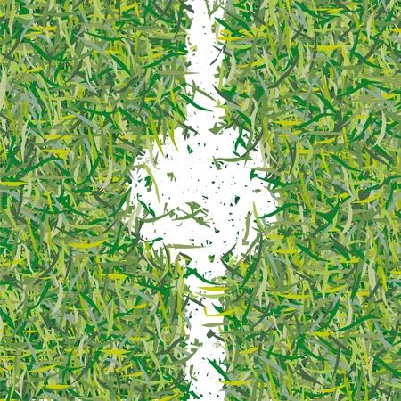 center field Illustration