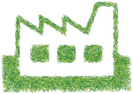 greening nature natural: green factory