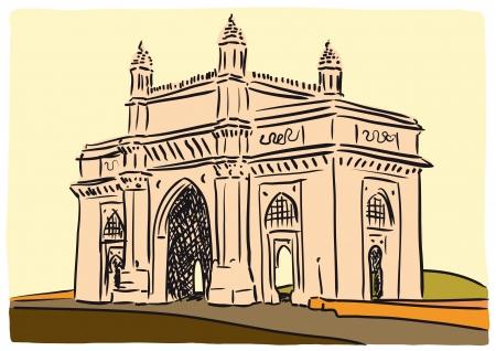 india city: Mumbai Gateway of India