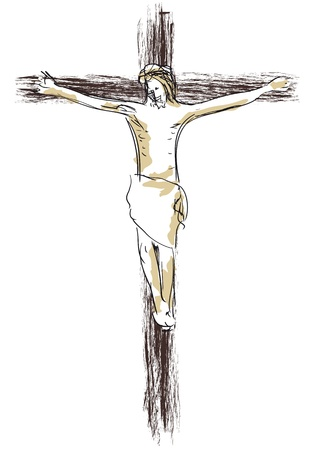 crucifixion: Jesus crucified