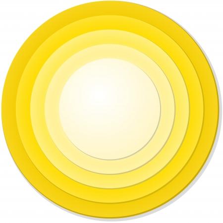 circulos concentricos: luz radial