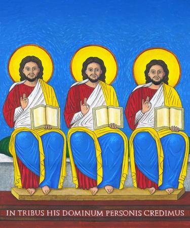 of the holy trinity: holy trinity