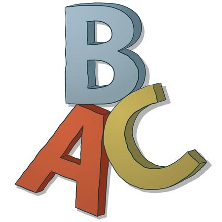 elemental: ABC letters