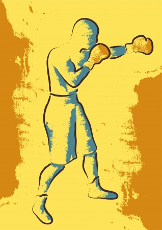 individual sports: boxer