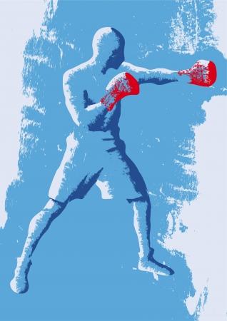 red gloves: boxer
