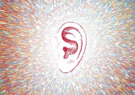 耳と音の波