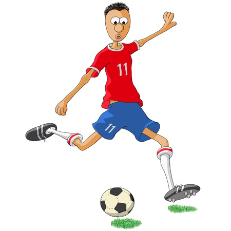 football shoe: Chile soccer player