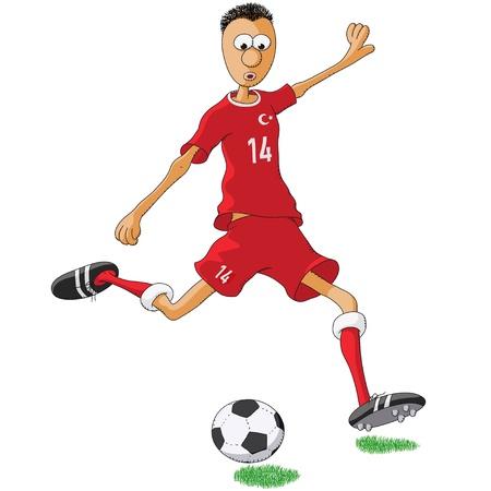 Turkey soccer player