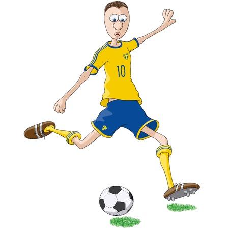 Sweden soccer player