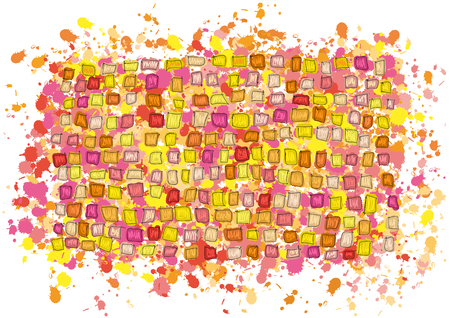 indefinite: abstract background Illustration