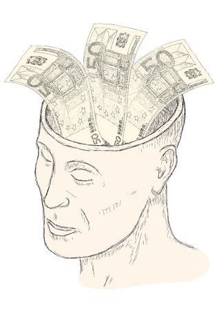 obsession: money in the head
