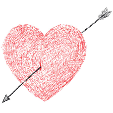 stab: heart