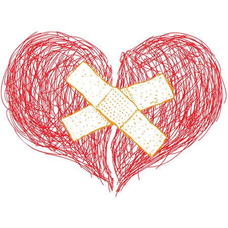 heart sketch: heart