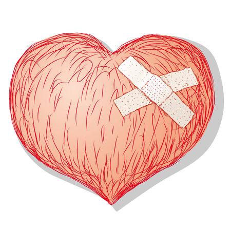 anguish: heart