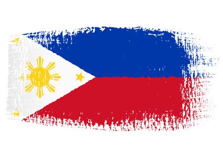 brushstroke: brushstroke flag Philippines