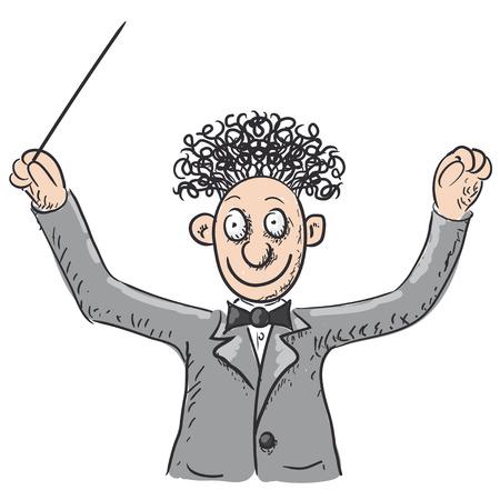 chef d orchestre: Chef d'orchestre orchestre illustration