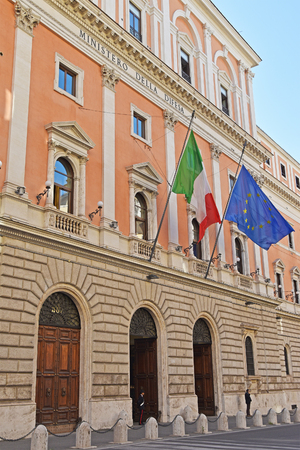 Italian Ministry of Defense, building in Via XX Settembre in Rome, Italy