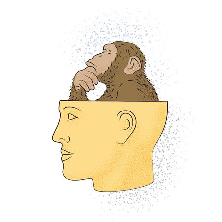 Dibujo simbólico del conocimiento de la filosofía