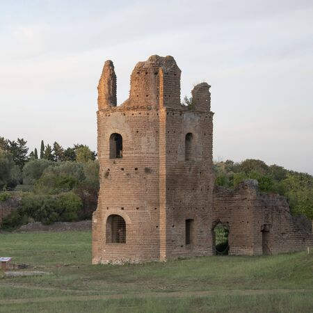 Image of the circus of Maxentius, Rome