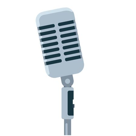 microphone vector illustration Vectores