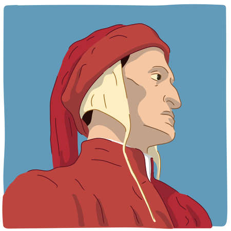 Dante Alighieri, famous Italian poet who wrote the Divine Comedy