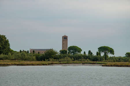 Torcello Island in the Venetian Lagoon, City of Venice, Italy, Europe