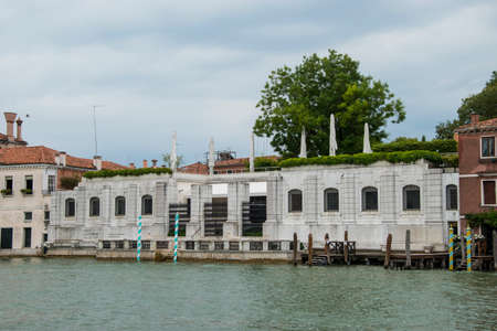 The Peggy Guggenheim museum on the Grand Canal, City of Venice, Italy, Europe Editoriali