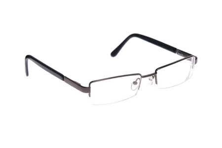 rimmed: Glasses Stock Photo