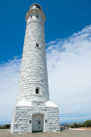southern indian: Cape Leeuwin Lighthouse, near Augusta, Western Australia, where Southern and Indian Ocean meet.