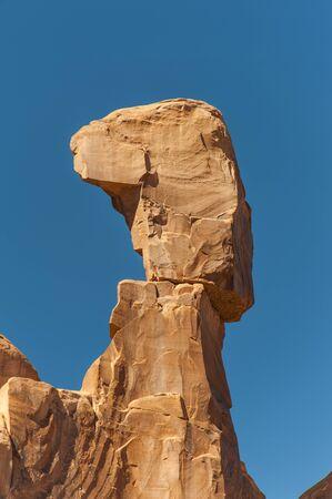 Balanced Rock Outcrop, Arches National Park, Moab, Utah