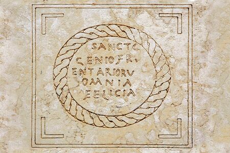 An inscription found in Roman Caesarea hints the probability that the building was a prison, in which Paul the Apostle was possibly held