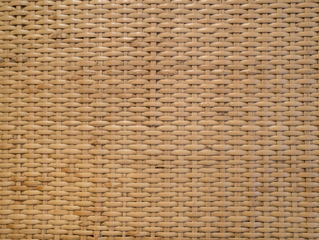 Thai style pattern of brown handcraft weave texture