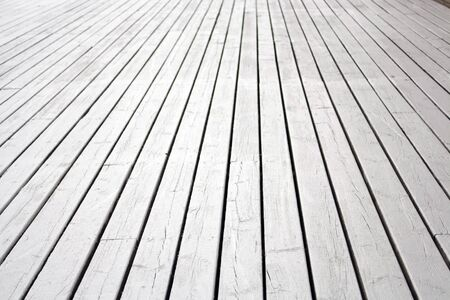 Painted Deck Stock Photo