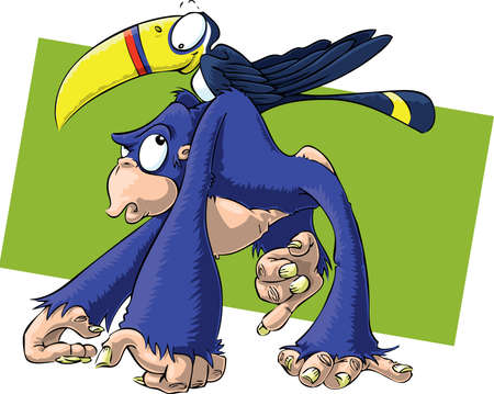 Chimp and Toucan