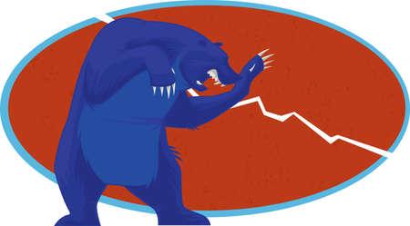 snarling: Bear Trend - Stock Market