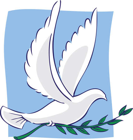 flying leaves: Dove of Peace