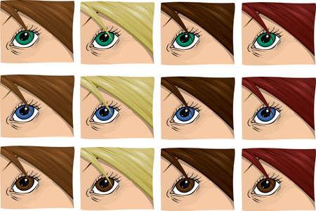 blinking: Girls Eye