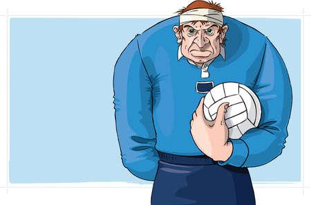 Gaelic football player Stock Photo