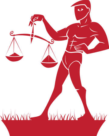 Libra ZodiacHoroscope Symbol photo